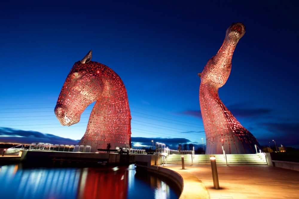 The Kelpies - shot by dswainphoto