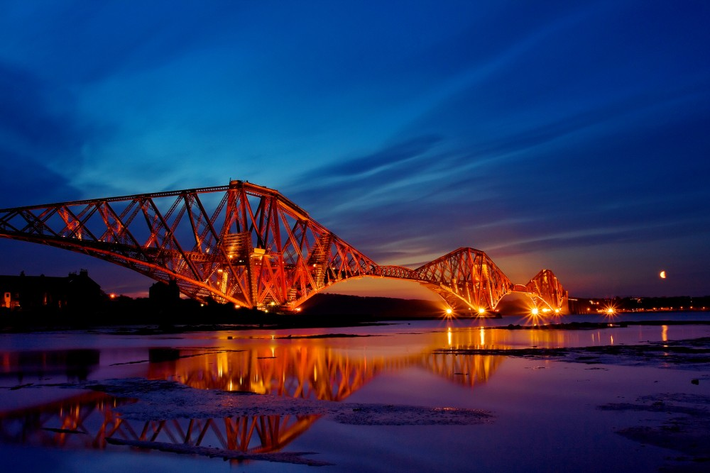 Forth Rail Bridge - image by Angus Clyne