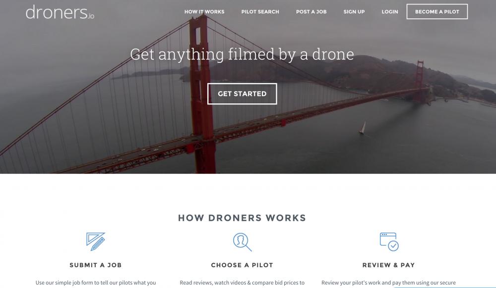 Droners Website