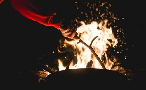 how to make a campfire