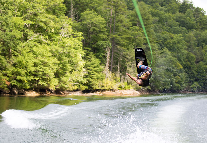 wakeboard rope length