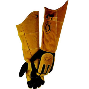 snake handling gloves